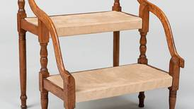 Antiques & Collecting: Step stool helped climb into bed