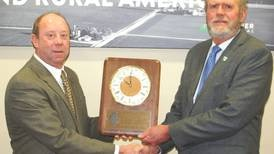 Morris inducted into ISPFMRA Hall of Fame