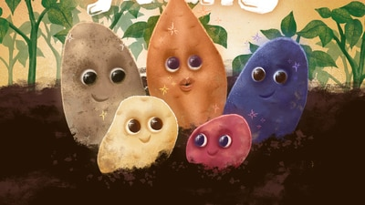 Positively potatoes: Students celebrate Food Day, Farm to School Month