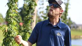 Southern Indiana cousins grow hops featured in local beers