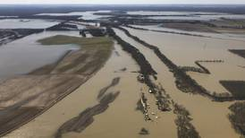 Army Corps report supports Mississippi flood-control pumps