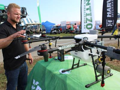 Rantizo offers drone training, application services for crop acres