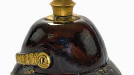 Antiques & Collecting: Figural bottle