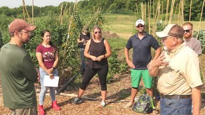 Garden feeds underserved community members