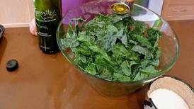 Donna's Day: Make kale chips with kids